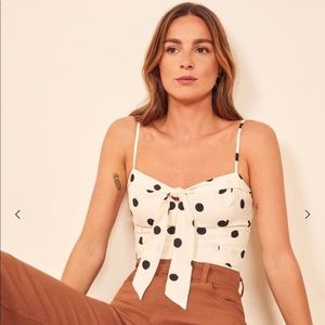 NWT Reformation Ashland top in Comet